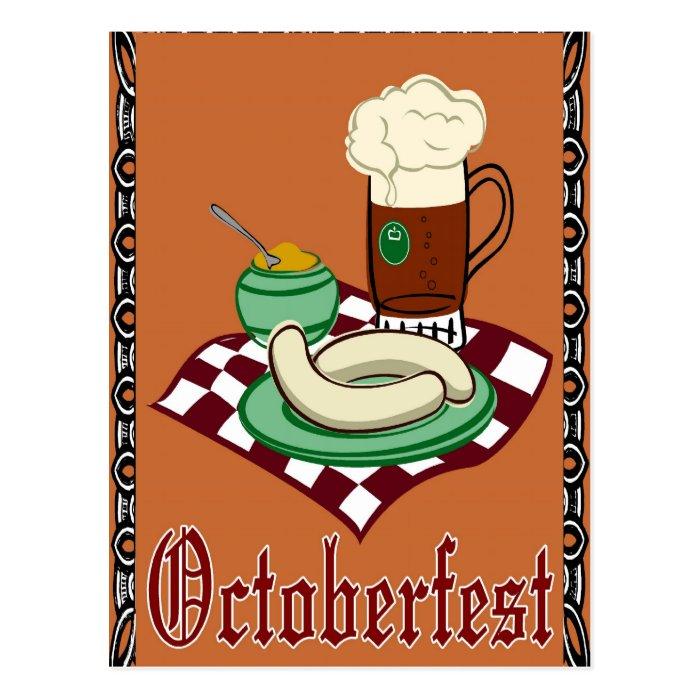 Octoberfest ,Oktoberfest,German Postcard