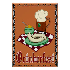 Octoberfest ,oktoberfest,german Poster at Zazzle