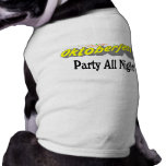 Octoberfest Party All Night! Dog T Shirt