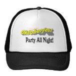 Octoberfest Party All Night! Trucker Hat
