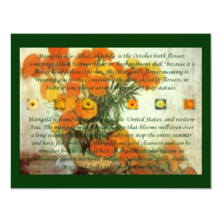 October's Child Birthday Wishes Card