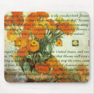 October's Child Birthday Wishes Mouse Pads