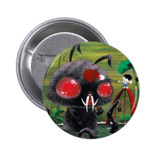 Octobunny Button