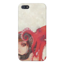 Octogirl iPhone 4 Case