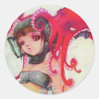 Octogirl Sticker