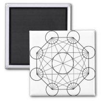 octogon magnet