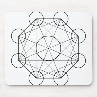 octogon mouse pad