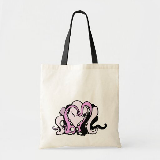 Octoheart Budget Tote Bag