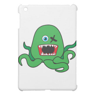 octomonster green.ai iPad mini cover
