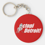Octopi Detroit! - Hockey Keychains