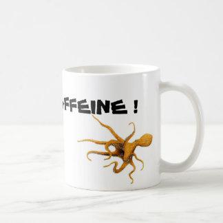 Octopi - I NEED CAFFEINE! Coffee Mug