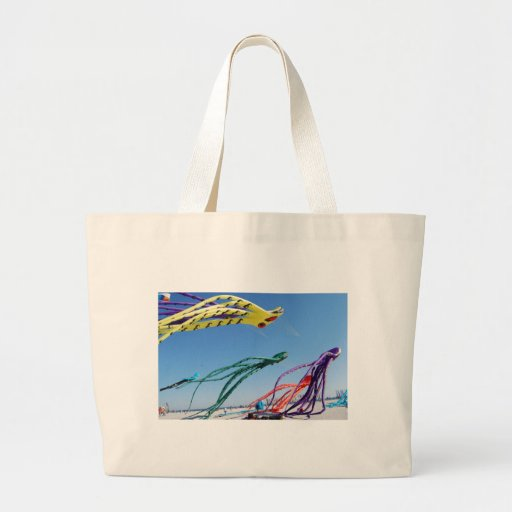 Octopi Kites Jumbo Tote Bag