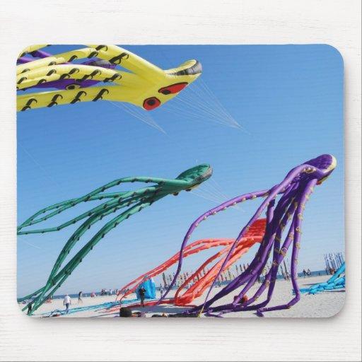 Octopi Kites Mousepad