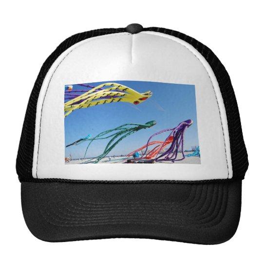 Octopi Kites Trucker Hat