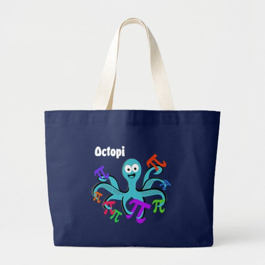 Octopi Large Tote Bag