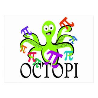 Octopi Postcard