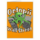 Octopii Wall Street - Occupy Wall St! Card