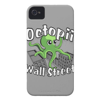 Octopii Wall Street - Occupy Wall St! iPhone 4 Case-Mate Case