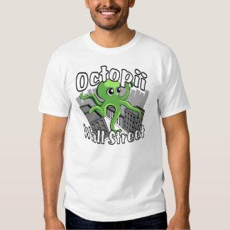 Octopii Wall Street - Occupy Wall St! T Shirt