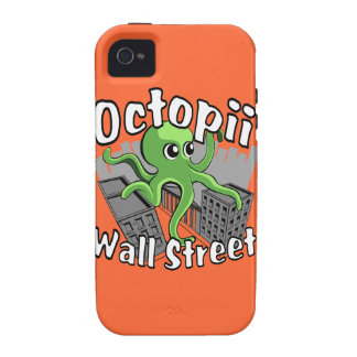 Octopii Wall Street - Occupy Wall St! Vibe iPhone 4 Cover