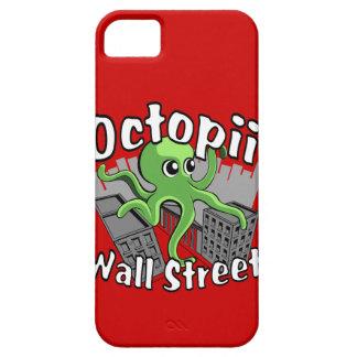 ¡Octopii Wall Street - ocupe Wall Street! iPhone 5 Carcasa