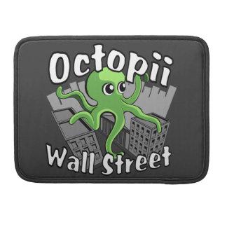 ¡Octopii Wall Street - ocupe Wall Street! Funda Para Macbooks