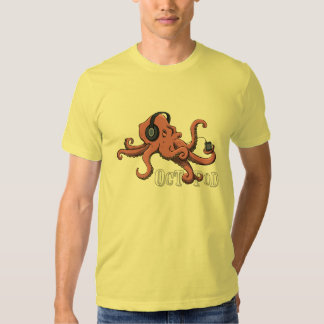 Octopod (light tee) tee shirt