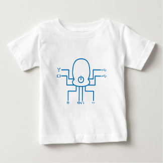 Octopod the techie octopus baby T-Shirt
