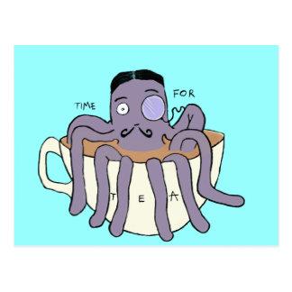 Octoposh Postcard