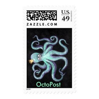 Octopost Stamps - Albert