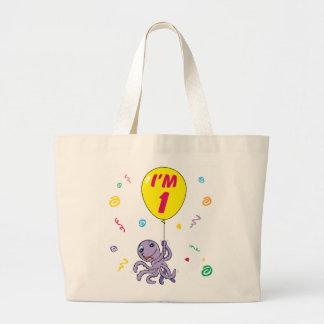 Octopus 1st Birthday Bags