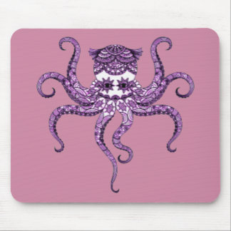 Octopus 2 mouse pad