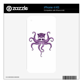 Octopus 2 skins for iPhone 4