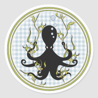 "Octopus 3"" Stickers"
