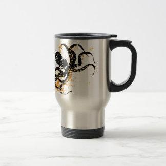 Octopus Abstract Travel Mug