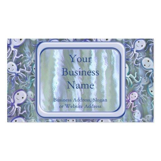 Octopus Adventure Business Cards
