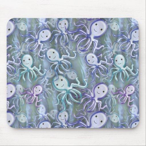 Octopus Adventure Mousepad
