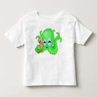 Octopus and Bear Toddler Shirt (Customize Color!)