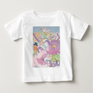 Octopus and friends baby T-Shirt