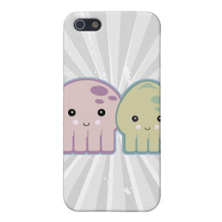 octopus and squid pals case for iPhone SE/5/5s