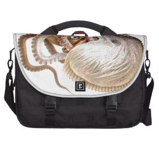 Octopus Art Cephalopod No.10 Laptop Commuter Bag