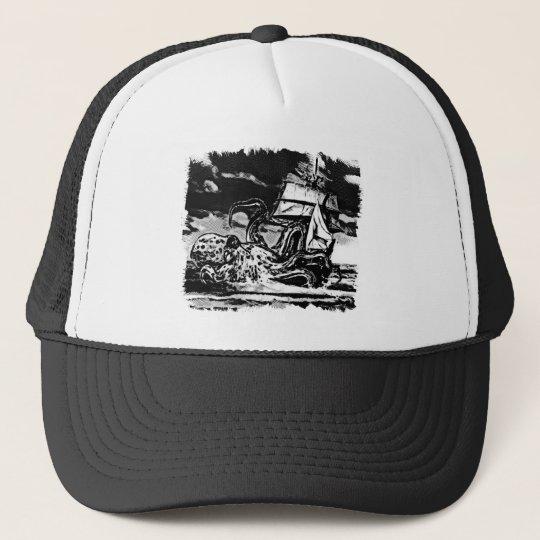 Octopus Attach Trucker Hat