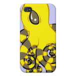 Octopus Bee iPhone 4/4S Cases