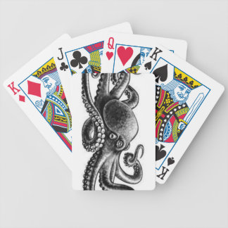 Octopus Bicycle Playing Cards