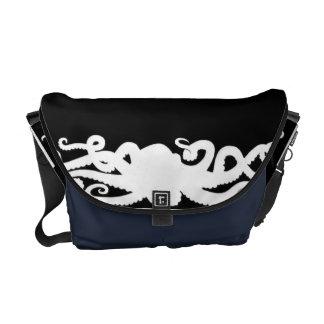 Octopus Black bag Messenger Bags