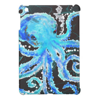 Octopus bubbles iPad mini cases