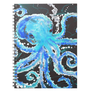 Octopus bubbles notebook