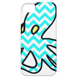 Octopus Chevron - light blue iPhone SE/5/5s Case