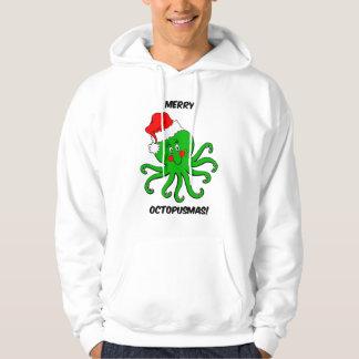 Octopus Christmas Hoodie