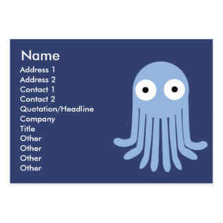 Octopus - Chubby Business Card Template